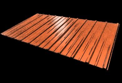 Tablă cutată